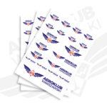 Logo Aeroklubu Warszawskiego